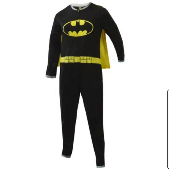 de99b4ea Batman Intimates & Sleepwear | Batgirl Onesie Fleece Pajamas Cosplay ...